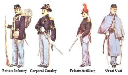 pics for union soldiers uniforms in color