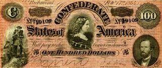 Confederate States of America Money