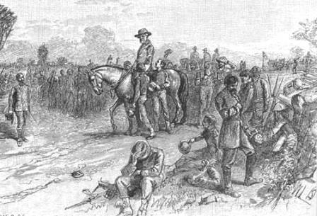 Civil War End: General Lee after surrender at Appomattox