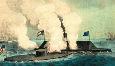 Ironclads: The Monitor and the Merrimack